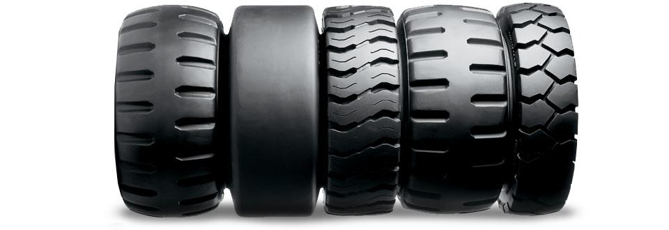 Romo Forklift Tires | Industrial Forklift Tires